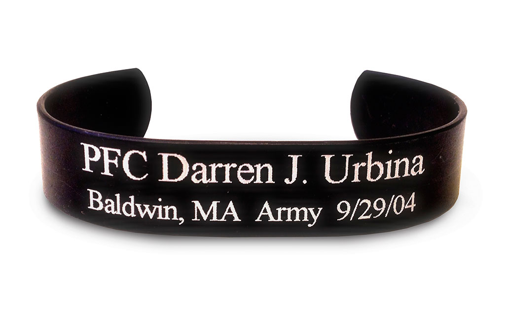 Picture of Black Memorial HeroBracelet™
