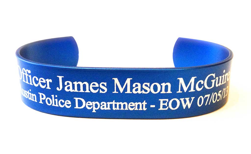 Picture of Blue Officer HeroBracelet™