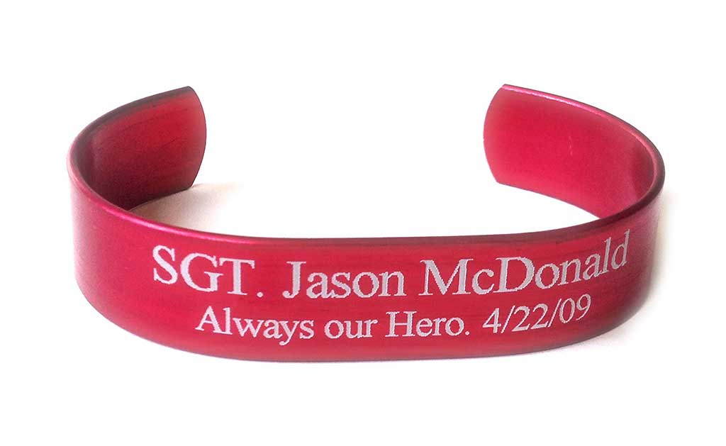 Picture of Red HeroBracelet™