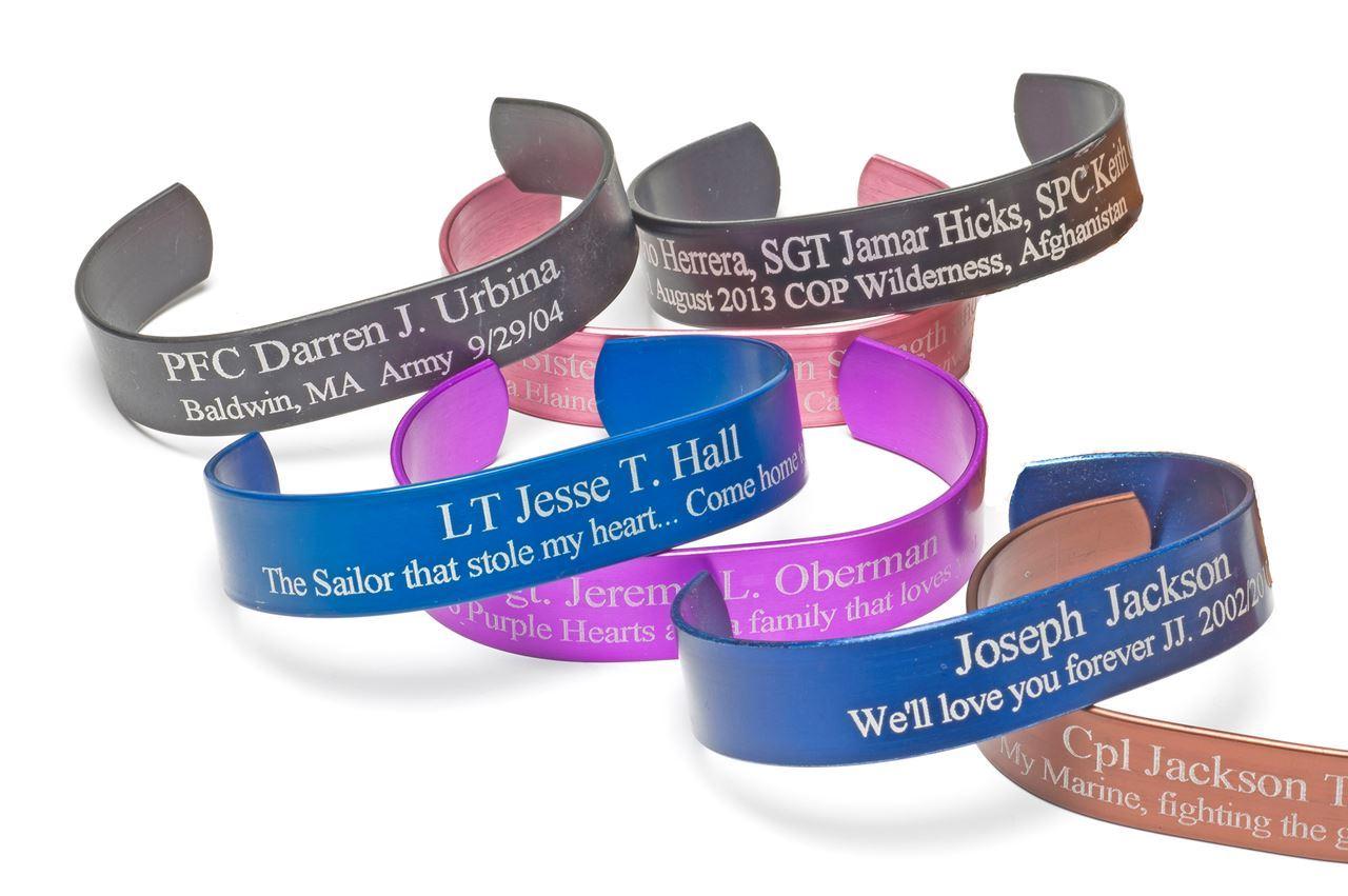 the custom bracelet honor bracelets jerezwine fallen memorial kia jewelry