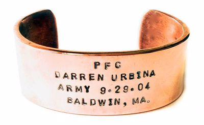 Picture of Spartan Copper HeroBracelet®