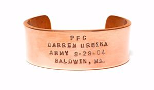 Picture of Spartan Copper HeroBracelet™
